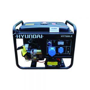 Máy Phát điện 5kw Chạy Xăng 3 Pha Hyundai HY7500LE-3