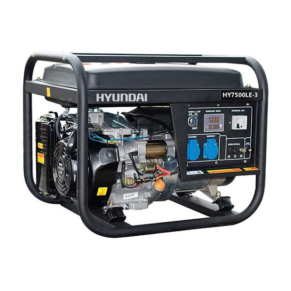 Máy Phát điện Xăng Hyundai HY7500LE -3 (6.3KVA – 6.9KVA) 3 Pha, đề Nổ