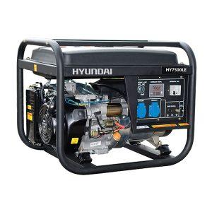 Máy Phát điện 5kw Chạy Xăng 1 Pha Hyundai HY7500LE