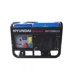 Máy Phát điện Chạy Dầu 12Kva 13Kva Diesel Hyundai DHY12500LE-3 Pha