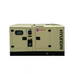 Máy Phát điện 70Kva – 80Kva Chạy Dầu Diesel Hyundai 3 Pha DHY80KSE
