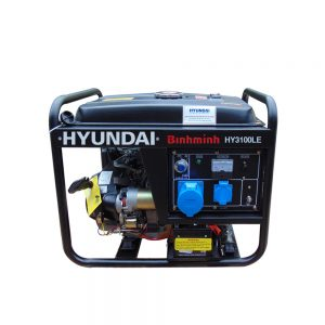 Máy Phát điện 3kw Chạy Xăng đề Nổ Hyundai HY3100LE