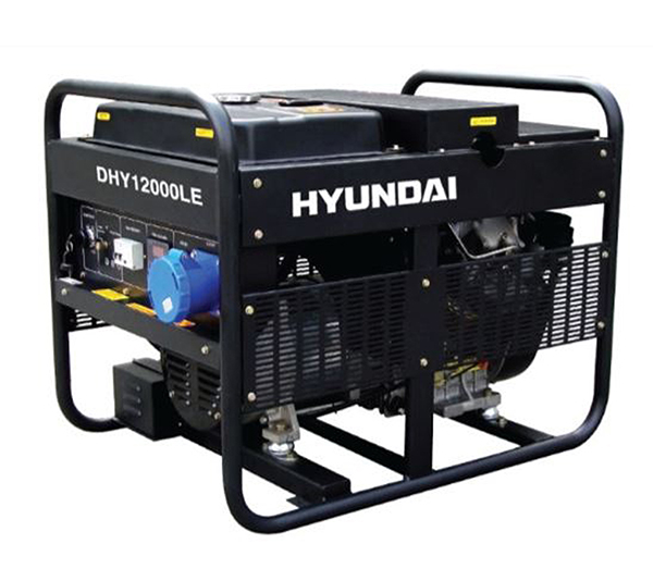 Máy Phát điện Chạy Dầu 9kw Diesel Hyundai DHY12000LE