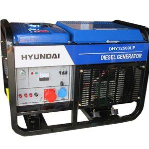 Máy Phát điện Chạy Dầu 10Kva – 10Kw Diesel Hyundai DHY12500LE