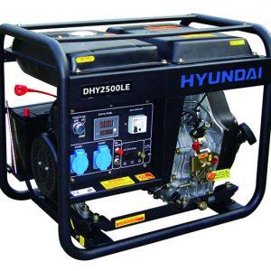 Máy Phát điện Chạy Dầu 2kw Diesel Hyundai DHY2500LE