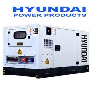Máy Phát điện 25kw Chạy Dầu 1 Pha Hyundai DHY28KSEm