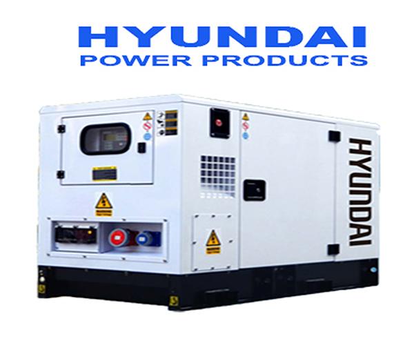 Máy Phát điện 30Kva Chạy Dầu Hyundai 3 Pha DHY34KSE