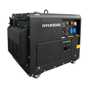 Máy Phát điện Chạy Dầu 5kw Diesel Hyundai DHY6000SE