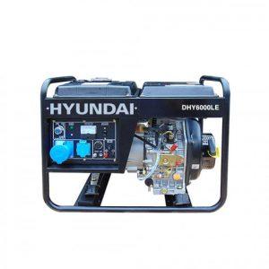 Máy Phát điện Chạy Dầu 5kw Diesel Hyundai DHY6000LE