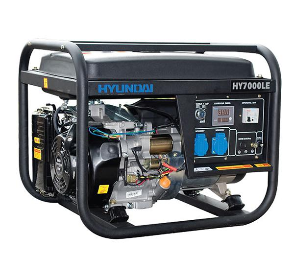 Máy Phát điện 5kw Chạy Xăng đề Nổ HY7000LE