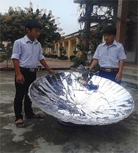 Nam Sinh Chế Tạo Máy Phát điện Sử Dụng Năng Lượng Mặt Trời