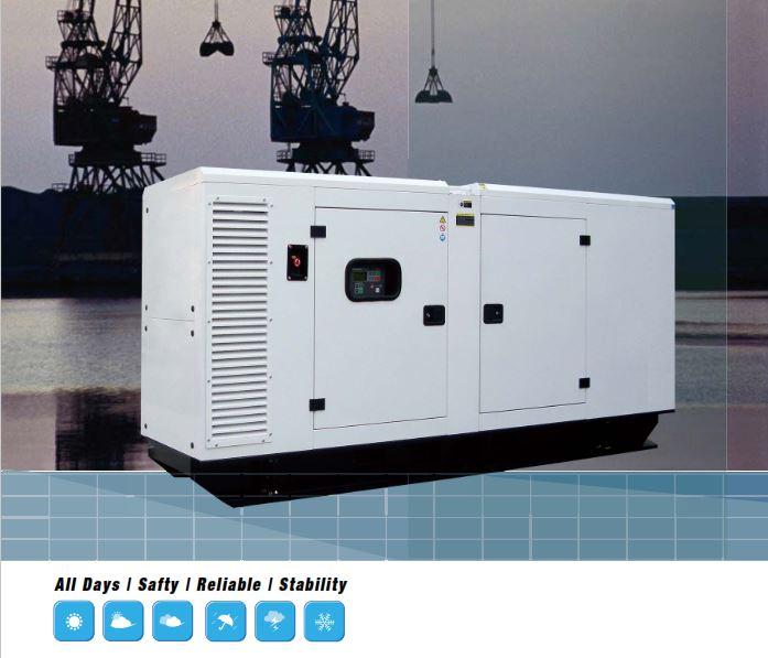 Máy phát điện Hyundai chạy dầu Diesel DHY35KSEm