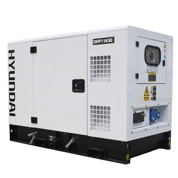 Máy phát điện 10kw chạy dầu diesel Hyundai DHY11KSEm