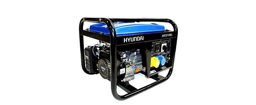 Máy phát điện chạy xăng 3kw Huyndai Hy3100L hoạt động mạnh mẽ
