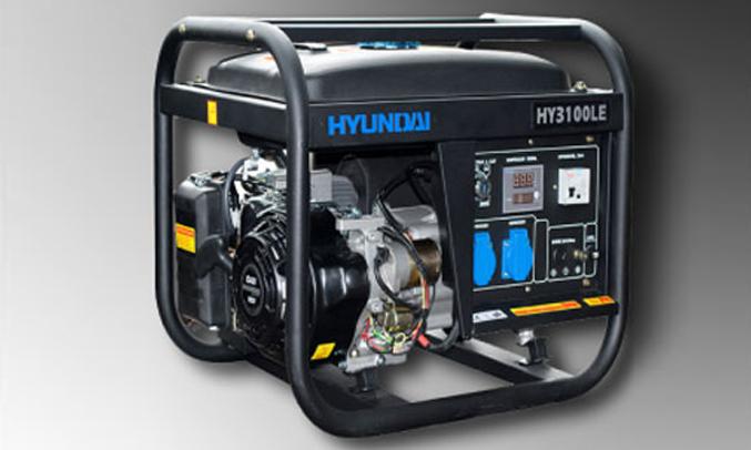 Máy phát điện huyndai Hy3100le