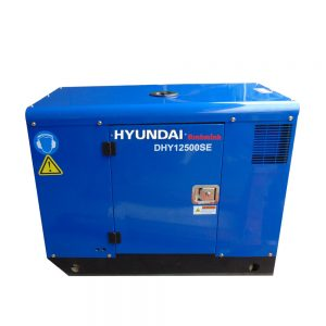 Máy Phát điện Chạy Dầu 10Kw – 11Kw Diesel Hyundai DHY12500SE