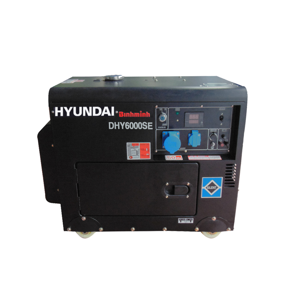 máy phát điện hyundai