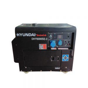 Máy Phát điện Chạy Dầu 7kva Diesel Hyundai DHY6000SE-3